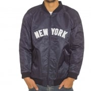 Majestic Jacke: Soft Touch Varsity Yankees NV