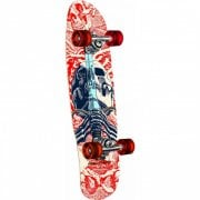 Powell Peralta Komplettboard: Mini Skull & Sword White 8.0