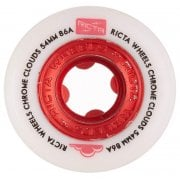 Ricta Rollen: Chrome Clouds Red (56mm) 86A